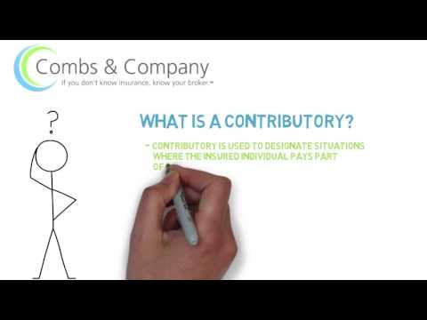 What is a Contributory Benefit?