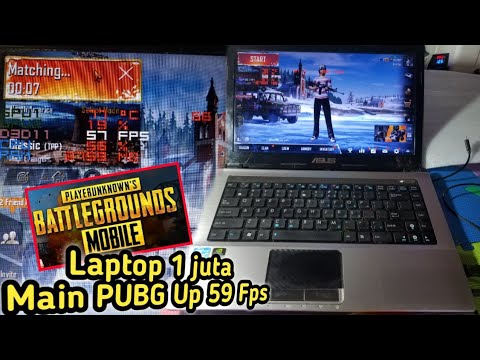 Laptop Asus 1 Juta Main PUBG Emulator Up 59 FPS