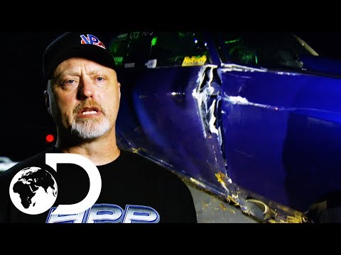 Doc's Race For 3rd Place Ends With A Catastrophic Car Crash | Street Outlaws