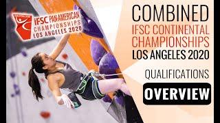 IFSC Pan-American Championships 2020 - WOMEN - Qualifications by International Federation of Sport Climbing