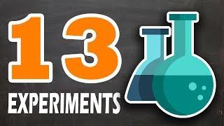 13 интересных химических трюков и экспериментов