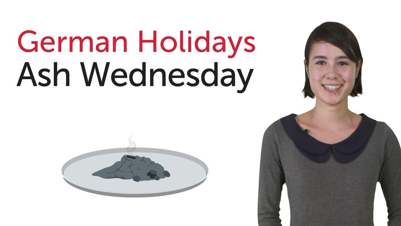 German Holidays – Ash Wednesday