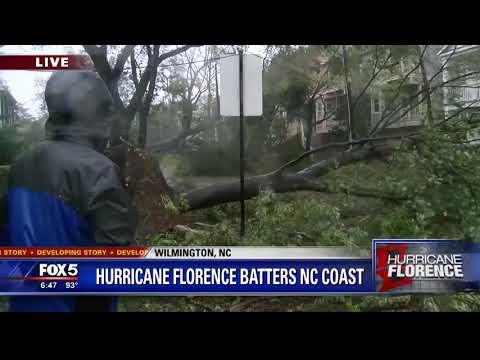 Hurricane Florence batters NC coast