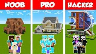 Video Minecraft NOOB vs PRO vs HACKER: FAMILY HOUSE BUILD CHALLENGE in Minecraft / Animation MP3, 3GP, MP4, WEBM, AVI, FLV April 2019