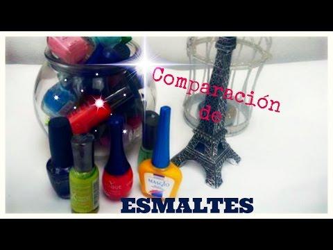 Comparación de Esmaltes: Buenos? Malos?  ✿