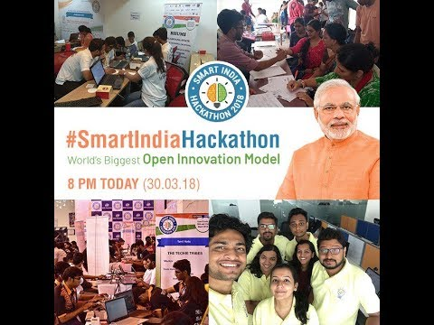 PM Shri Narendra Modi interacts with participants of Smart India Hackathon during its Grand Finale.  Mar 30, 2018