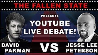 LIVE Debate: Jesse Lee Peterson vs. Progressive David Pakman on Midterm Elections & More!