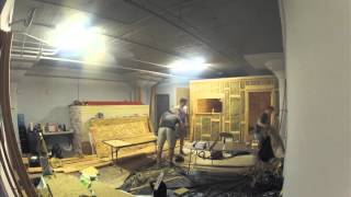 Mateo Sound Live Room Construction Time-Lapse