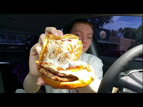 You haven't heard passion until you've heard Report Of The Week shit on the new Burger King burger for 14 minutes.