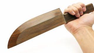 世界で一番切れる木製の包丁を作りたい!