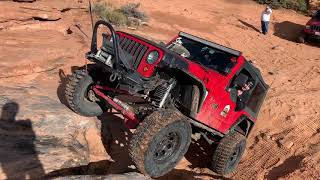Steel Bender Off-Road Trail near Moab, Utah