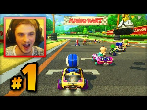 Mario Kart 8 ONLINE multiplayer - LIVE w/ Ali-A #1 -