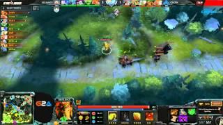 [SL12 Finales] Alliance vs Cloud 9 G1 - Dota 2 FR
