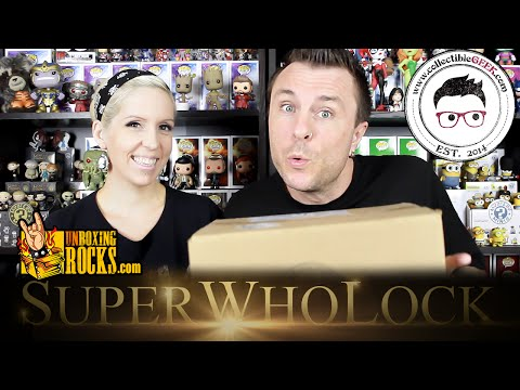 """""""SUPERWHOLOCK"""" CollectibleGEEK Deluxe Cache Unboxing Review"""