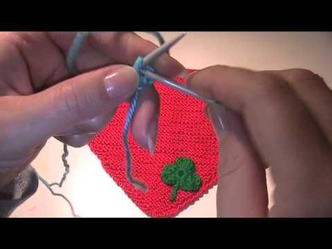 Halstuch für Babys stricken