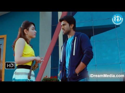 Racha Movie - Tamannaah, Ram Charan Nice Challenge Scene
