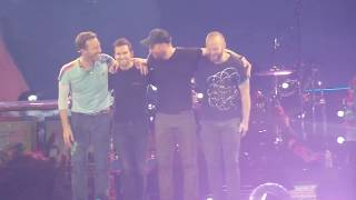Coldplay LIVE Paris - Up & Up - End of the show - Stade de France July 15th 2017.