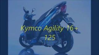 8. Kymco Agility 16+ 125