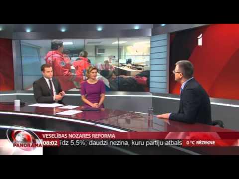 """Veselības ministra intervija LTV raidījumam """"Rīta panorāma"""""""