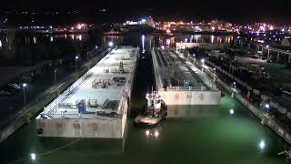 Click to watch Juneau Cruise Ship Floats being launched