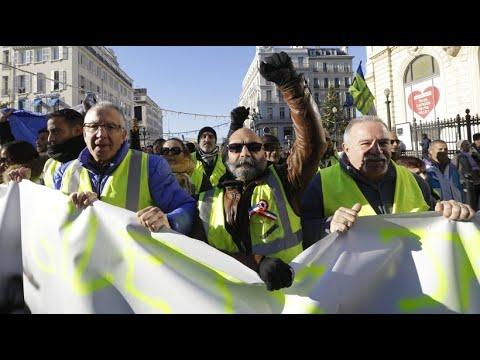 Frankreich: Gelbwesten-Proteste gehen in die fünfte W ...