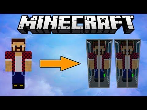 Обзор модов Minecraft 44 Клонируй Себя (Clones Mod)