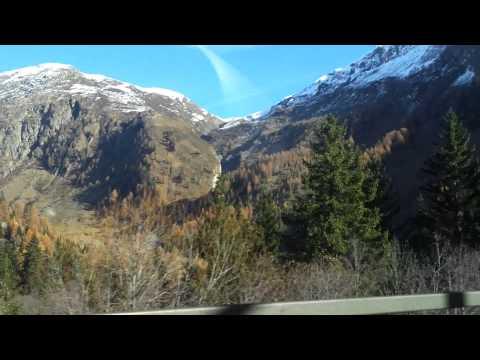 Trajet train Oberwald - Realp