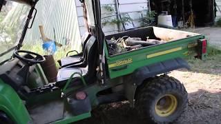 7. John Deere Gator HPX 4x4 2006 Diesel Start Up