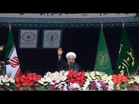 Iran: Feierlichkeiten zum 40. Jahrestag der Islamisch ...
