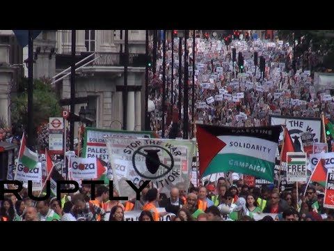 Palestine - Over 350 Palestinians have been killed in Israel's ongoing operation to root out Hamas fighters. Tens of thousands march across the glove to protest the victims of the invasion, almost 80%...