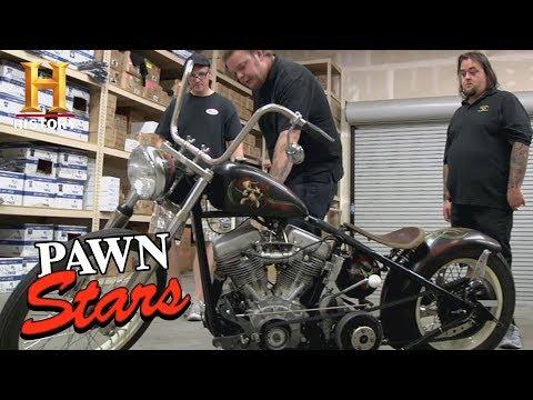 Pawn Stars: 1951 Panhead Sucker Punch Sally Bike (Season 8)   History