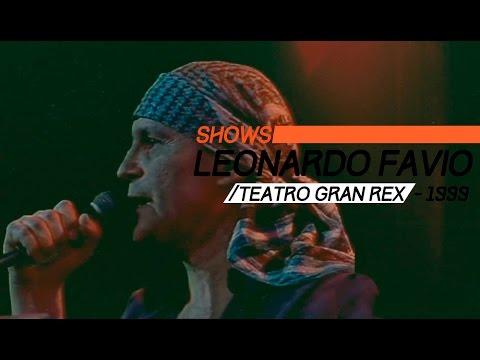 Leonardo Favio video Gran Rex 1999 - Show Completo