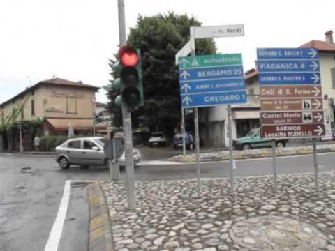 Vado in bici dagli amici FaceBook 3, verso Bergamo