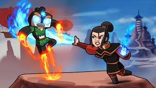 Avatar - Psycho FIREBENDER is EVIL! (Minecraft Roleplay)