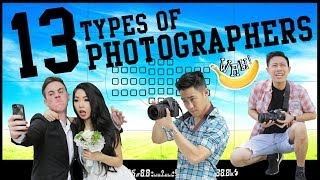 Video 13 Types of Photographers MP3, 3GP, MP4, WEBM, AVI, FLV Juni 2019