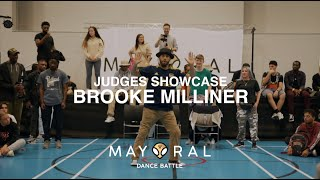 Brooke – Mayoral Dance Battle 2019 Popping Judges Showcase