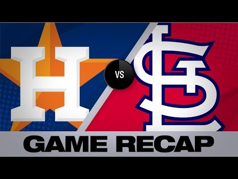 Video: Top of Astros' order doom Cards in 6-2 win | Astros-Cardinals Game Highlights