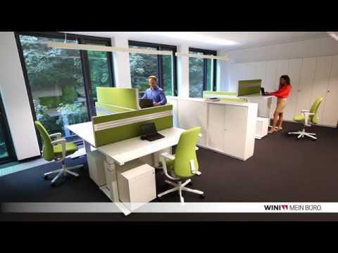 WINI Büromöbel: Referenzobjekt SIRTeX Bonn