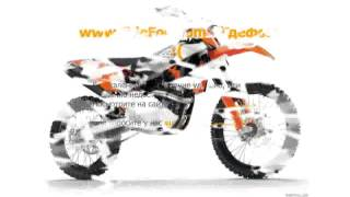 8. 2008 KTM SX 250 Features & Specs