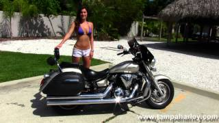 6. 2008 Yamaha V-Star 1300 Motorcycle for Sale in Florida