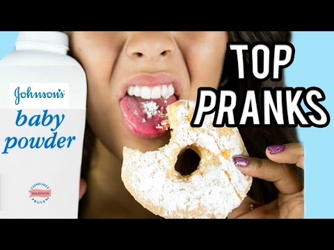 TOP 10 PRANKS FOR FRIENDS & FAMILY! NataliesOutlet (видео)