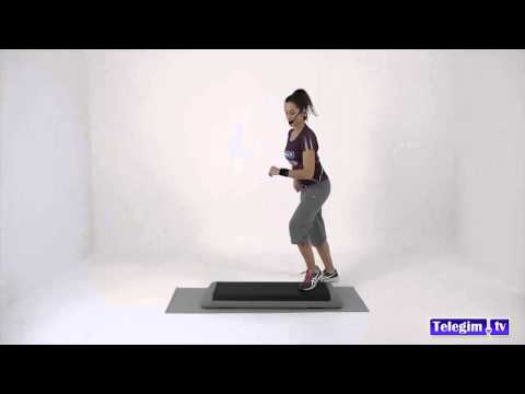 Clases de Step online - Gimnasio online - www.telegim.tv/Particulares