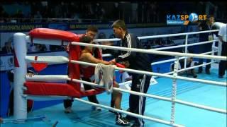 Бокстан ӘЧ. Ілияс Сүлейменов (52 кг) Азат Үсеналиевке қарсы