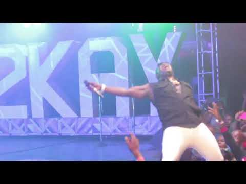 Duncan mighty ft tiwa savage. Live performance with mr2kay