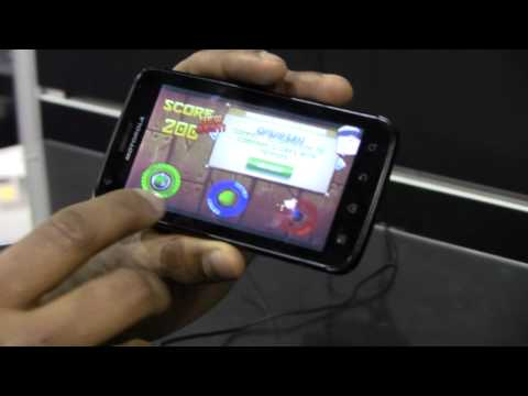 HotHardwareVids - http://hothardware.com - NVIDIA demos Mot's new Atrix 4G smartphone coming to AT&T in Q1. Tegra 2 is under the hood, along with Android.