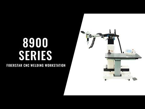 <h3>8900 Series FiberStar CNC Welding Workstation - Walkthrough</h3>