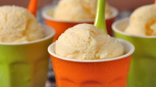Recipe here: http://www.joyofbaking.com/OrangeIceCream.html Stephanie Jaworski of Joyofbaking.com demonstrates how to make Orange Ice Cream. A hot summer's day begs for something cold. Oh, we could sip on a cold drink but nothing says  'Summer' like a bowl of homemade ice cream. So try this delicious Orange Ice Cream that is perfect on its own, or with fresh fruit.New Recipes every Thursday before noon Eastern time. Join our Facebook Page: http://www.facebook.com/joyofbaking