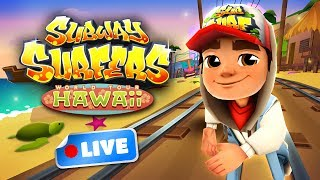 Join the Subway Surfers World Tour in Hawaii! Download for free on Android, iOS, Windows 10 and Kindle Fire right here: http://bit.ly/SubSurfFBSubway Surfers World Tour - Hawaii:★ Travel to fantastical Hawaii on the Subway Surfers World Tour★ Dash through a Subway surrounded by old shipwrecks and rivers of lava★ Unlock the Ukulele board and take a playful ride through the island Subway★ Explore the Hawaiian jungle on the amazing Tiki board★ Pick up mysterious Tiki masks in the Weekly Hunts to earn great prizesDownload for FREE on:Android:http://bit.ly/SubSurf_Googl...iOS:http://bit.ly/SubSurf_AppStoreWindows 10:http://bit.ly/SubSurf_WPstoreKindle Fire:http://bit.ly/SubSurf_Amazon