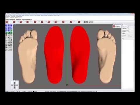 Insole manufacturing (Step 2): Design