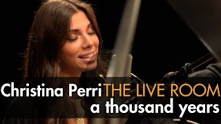 "Video Christina Perri - ""A Thousand Years"" captured in The Live Room MP3, 3GP, MP4, WEBM, AVI, FLV Agustus 2018"